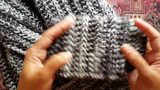 How To Knit The 1-row Repeat Scarf: A Knittycats Knits Tutorial