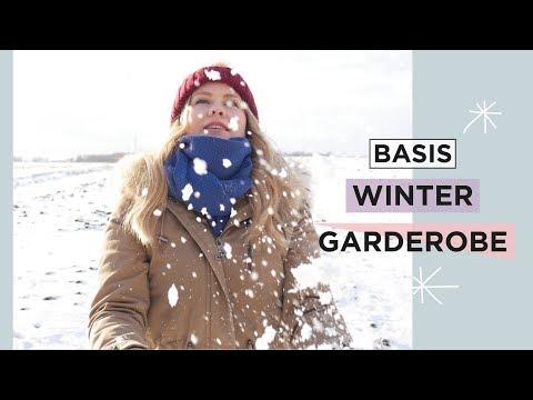 BASIS WINTER GARDEROBE | Vielseitige Teile für den kleinen Kleiderschrank