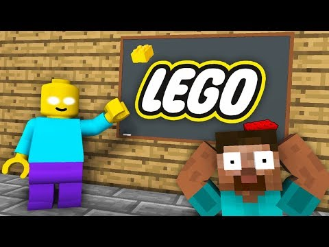 Monster School : LEGO CITY GAME CHALLENGE - Minecraft Animation