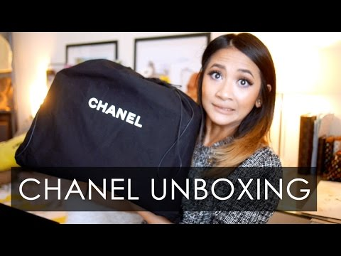 CHANEL UNBOXING + STORYTIME | Executive Cerf Tote