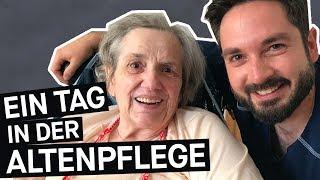 Alltag als Pfleger: Wie ist es, in der Altenpflege zu arbeiten? || PULS Reportage