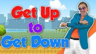 Get Up to Get Down | Movement Song for Kids | Brain Breaks  | Jack Hartmann