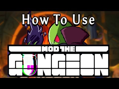 How To Install and use Mod the Gungeon