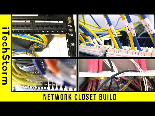 Network-rack-closet-build-home