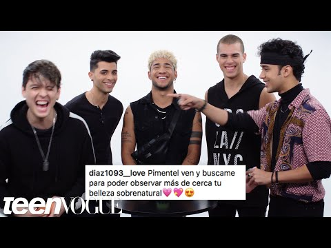 CNCO Compete in a Compliment Battle | Teen Vogue