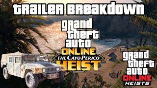 GTA 5 - Island Heist DLC - FULL Trailer Breakdown, New Cars, Release Date & More! (Cayo Perico Heist
