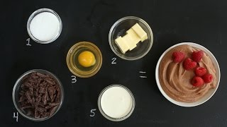 5 Ingredient Chocolate Mousse – Kitchen Conundrums with Thomas Joseph