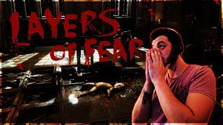 Layers of Fear #1 - SUCH A CREEPY GAME!!!
