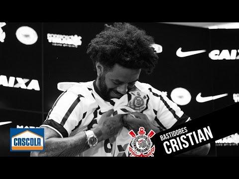 #Bastidores | Chegada de Cristian