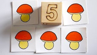 Развивающие мультики. Учимся считать до пяти (Мультфильмы для малышей, детей, деток)