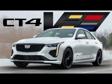 External Review Video GMSCWYEufM8 for Cadillac CT4 Sedan