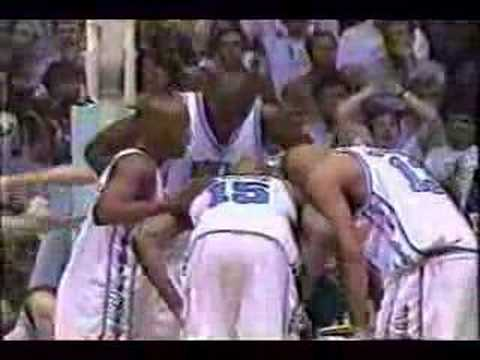 Video: 1998 #2 UNC beats #1 Duke