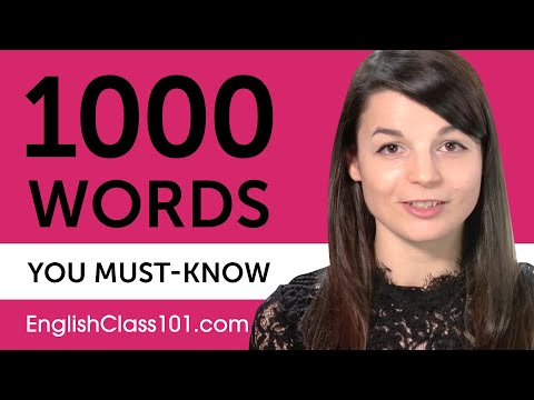 Download 1000 Words Every English Beginner Must Know Mp4 HD Video and MP3