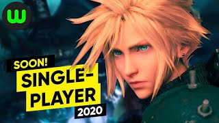 Top 15 Upcoming Single-player Games of 2020 (PC PS4 Switch XB1) | whatoplay