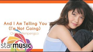 Charice Pempengco - And I Am Telling You (I'm Not Going) (Audio) 🎵 | Charice