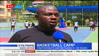 Basketball camp ongoing in Makini School