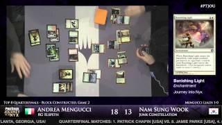 Pro Tour Journey into Nyx - Quarterfinals - Mengucci vs. Nam