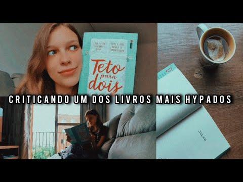 lendo Teto para Dois em um dia • vlog de leitura