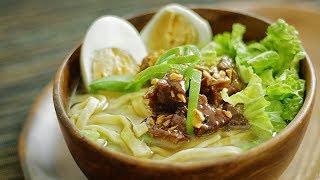 Pares Mami - Beef Noodle Soup 🎧