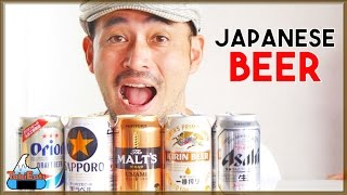 Japanese Beer Taste Test (Which Brand Is Best?)