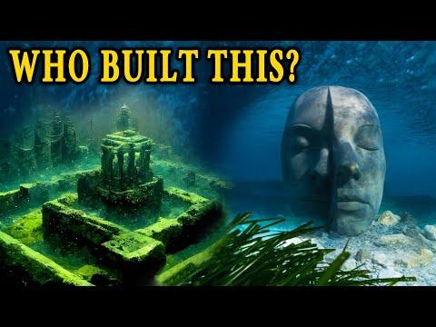 Mysterieuze onderwatersteden over de hele wereld ontdekt: oude beschavingen