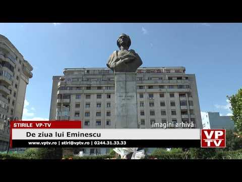 De ziua lui Eminescu