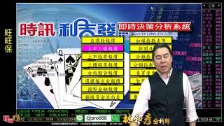 理周TV-20180831 盤中-林和彥 時間密碼/果然全球股市下跌 陸股最弱跌第三天