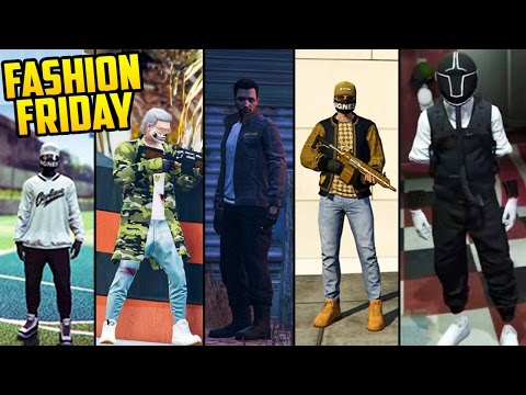 GTA Online: FASHION FRIDAY! THE BEST OUTFITS! (RNG Outfits, Snipers, Corkers & More)