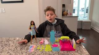 Barbie Crayola Color Magic Station Review