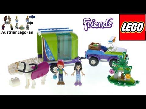 Vidéo LEGO Friends 41371 : La remorque à chevaux de Mia