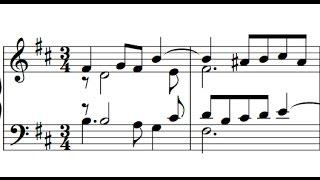 Scarlatti / Pamela Cook, 1967: Sonata in B Minor, L 33 / K 87