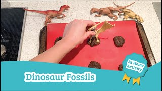 Dinosaur Fossils | Daycare Activities