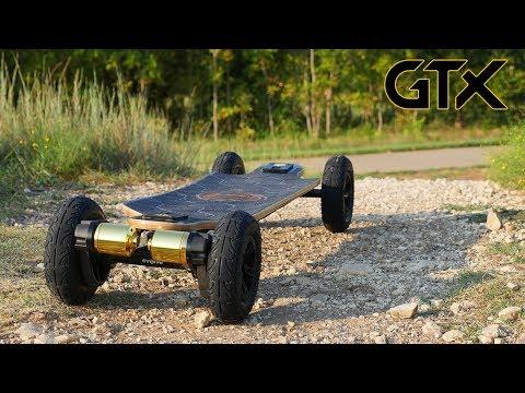 The BEST Electric Skateboard EVER! Evolve Bamboo GTX