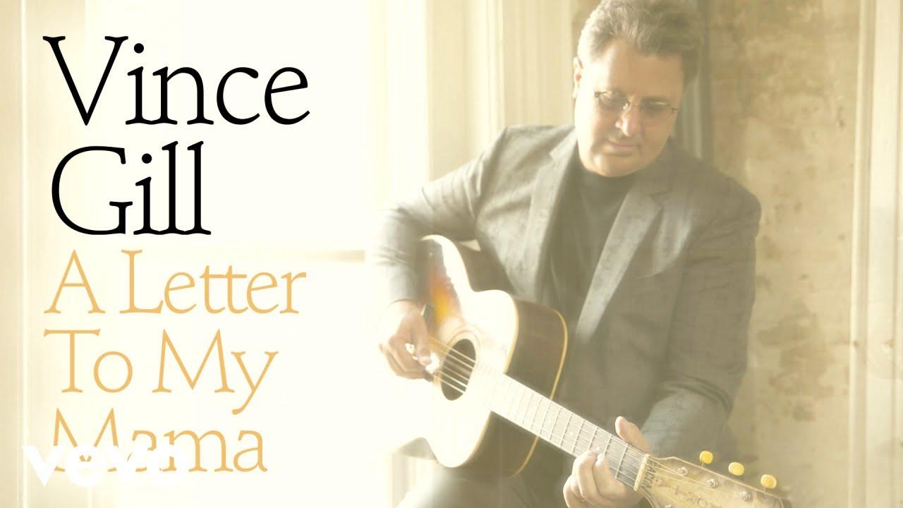 """""""A letter to my mama"""" es la canción que adelanta el próximo disco de Vince Gill"""