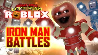 Roblox Iron Man Battle Transforming Into Iron Man In Roblox Free Online Games