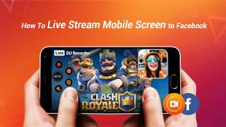 How To Live Stream Mobile Screen or Games on Facebook