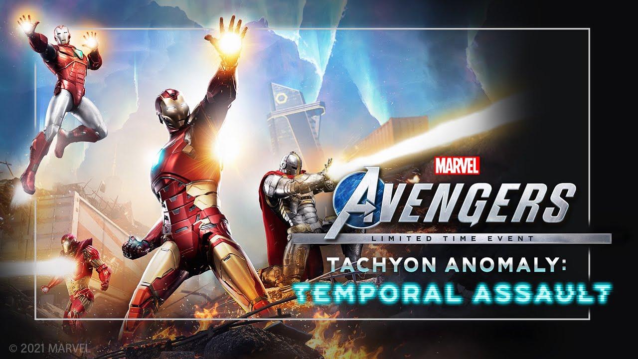 Marvel's Avengers - L'evento Anomalia Tachionica