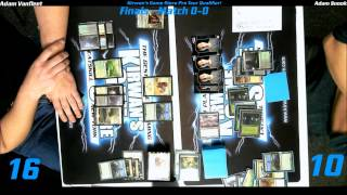 preview picture of video 'MTG Magic PTQ Standard Catskill, NY Finals Game 1 122014'