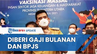 Wali Kota Bobby Nasution Janjikan Gaji Bulanan dan BPJS kepada Juru Parkir Terdampak e-Parking