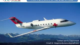 Best and economical Air Ambulance Services in Vijayawada by King