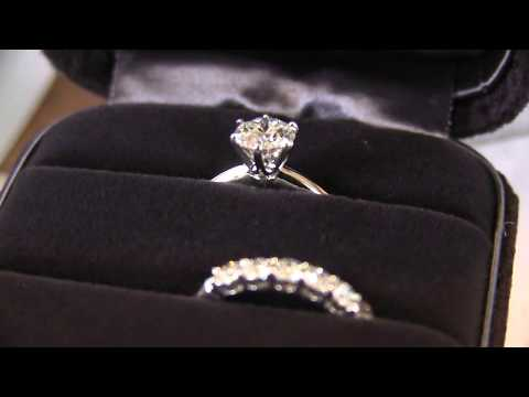 Tiffany & Co Engagement Ring 1.09ct VS1 Unboxing (by husband)
