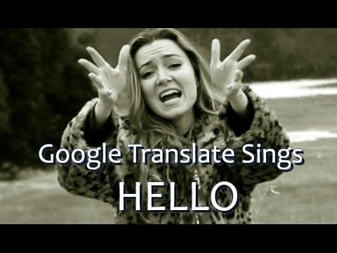 Adele z Google překladače