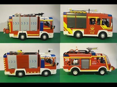 Cuerpo de Bomberos de Playmobil (1)