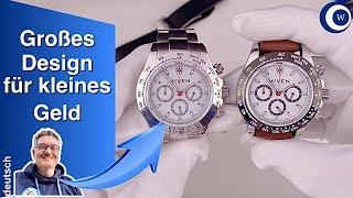 Eine gute und günstige Uhr für den kleinen Geldbeutel