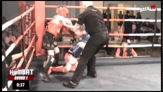 Brandon Cochrane (Mos Muay Thai) Vs Adam Gallagher (OB Gym)