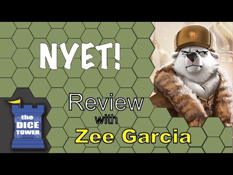The Dice Tower reviews Nyet!