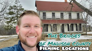 1260 THE BRIDGES OF MADISON COUNTY Filming Locations Clint Eastwood WINTERSET IOWA Travel (3/9/20)