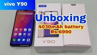 vivo Y90 unboxing depth review ,4030mAh battery,Rs:6990 full Specification and tamil review