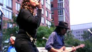 Chuck Brown feat. Sweet Cherie Mitchell, Rockefeller Park, NYC 6-17-09