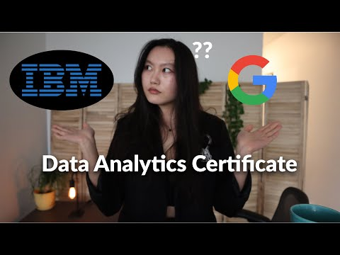 What's the best certificate for data analysts? Google vs IBM Data ...